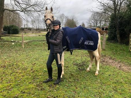 Marleen Oudega Clubkampioen pony's 2019