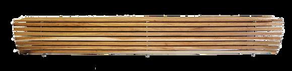 Parque wood bench