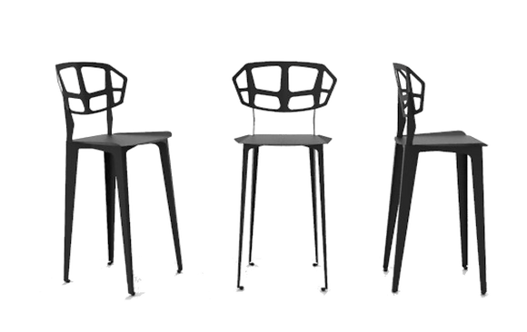 Bent High Chair