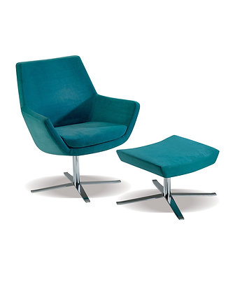 Ellen chair & Ottoman
