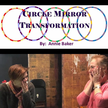 Playing on stage again in Circle Mirror Transformation!