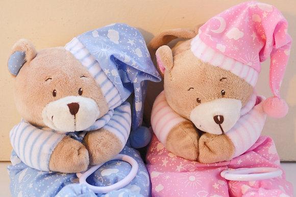 Urso Peluche Rosa