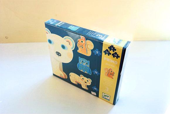 Puzzle Animais do Bosque