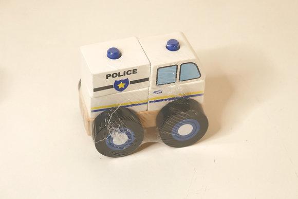 Carro da Policia Desmontável