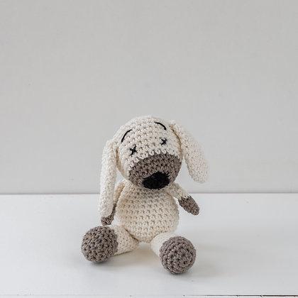 Cão Pantufa Branco