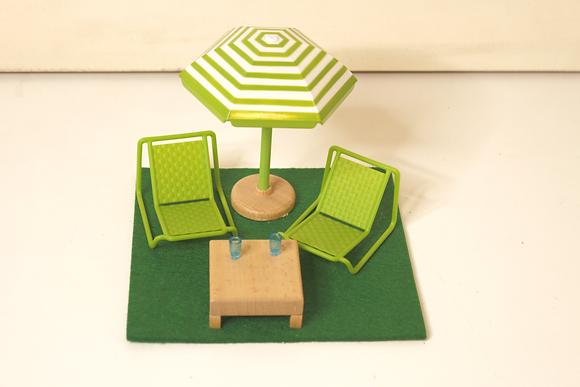 Mobília de terraço
