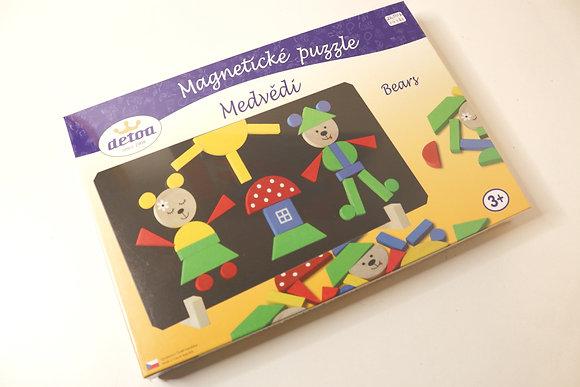 Puzzle Magnético dos Ursinhos