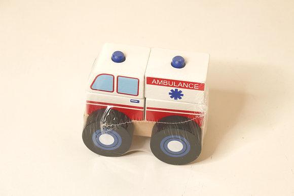 Ambulância Desmontável
