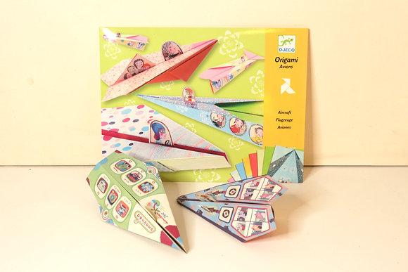 Origami Aviões de Papel