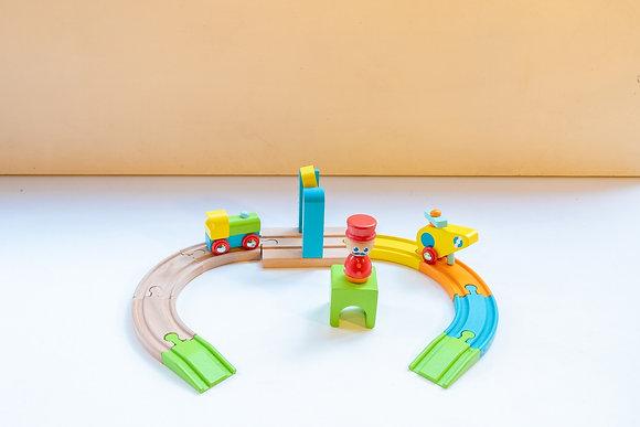 Comboio com Pista