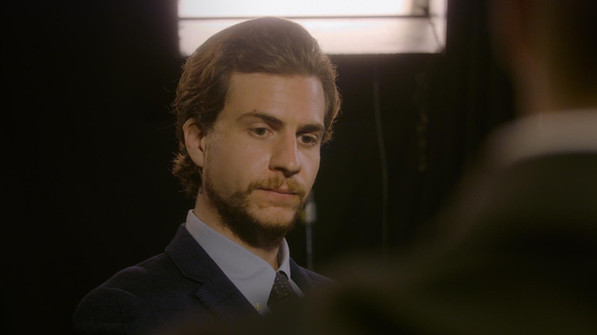 Philip Andrew plays Heinrich Hofmann