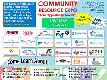 Join Us for a Community Expo in Dumas on July 12!