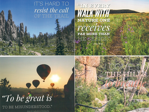 Black Hills Images & Quotes notecards