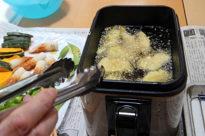 料理活動 野菜天ぷら