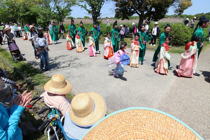 平城京天平祭に行ってきました