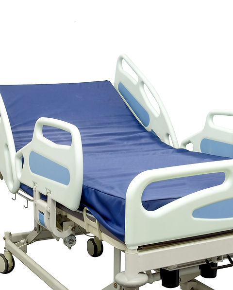 Modern patient bed can be used both in h