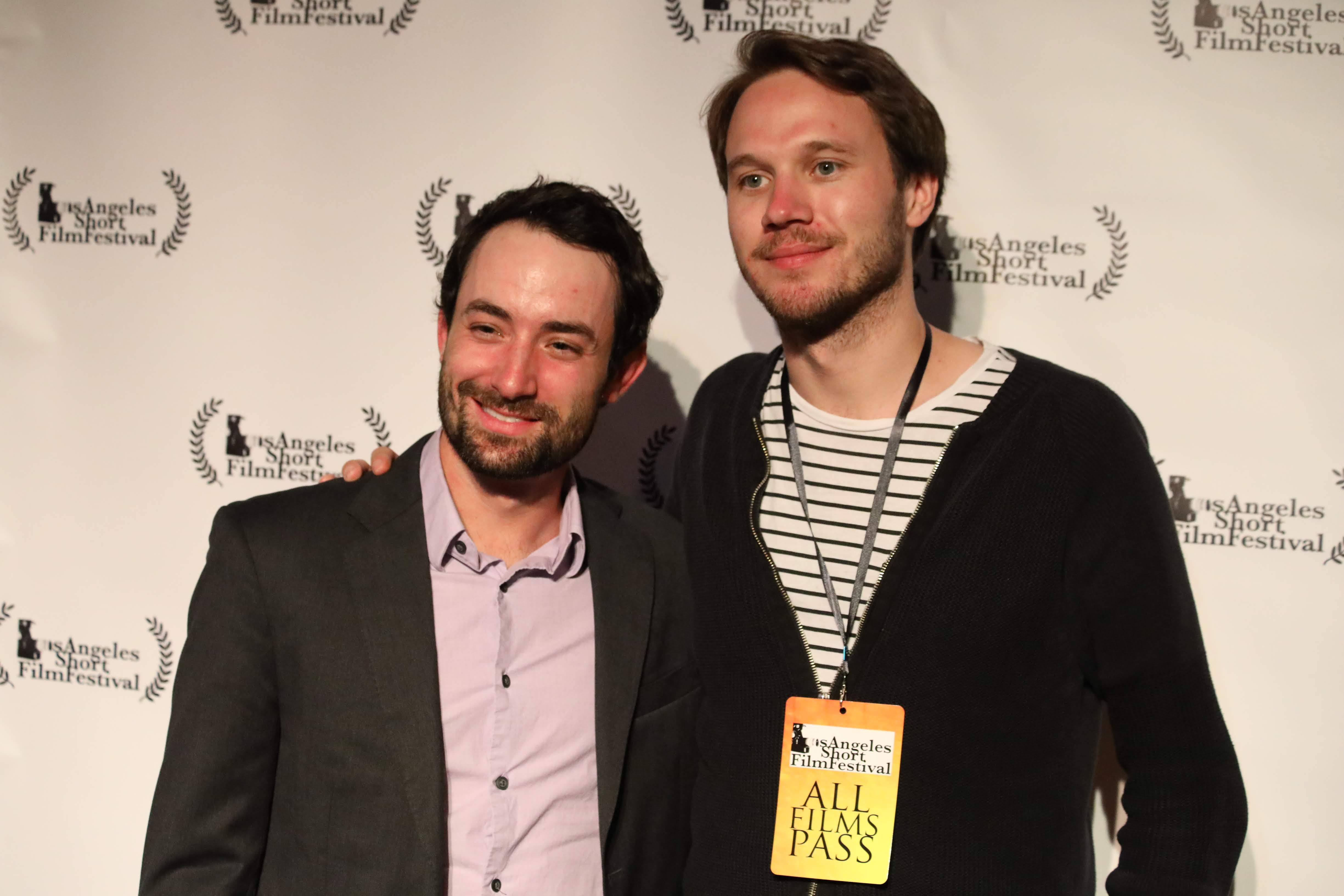 Composer Matt Donner and Director Johan Bodell