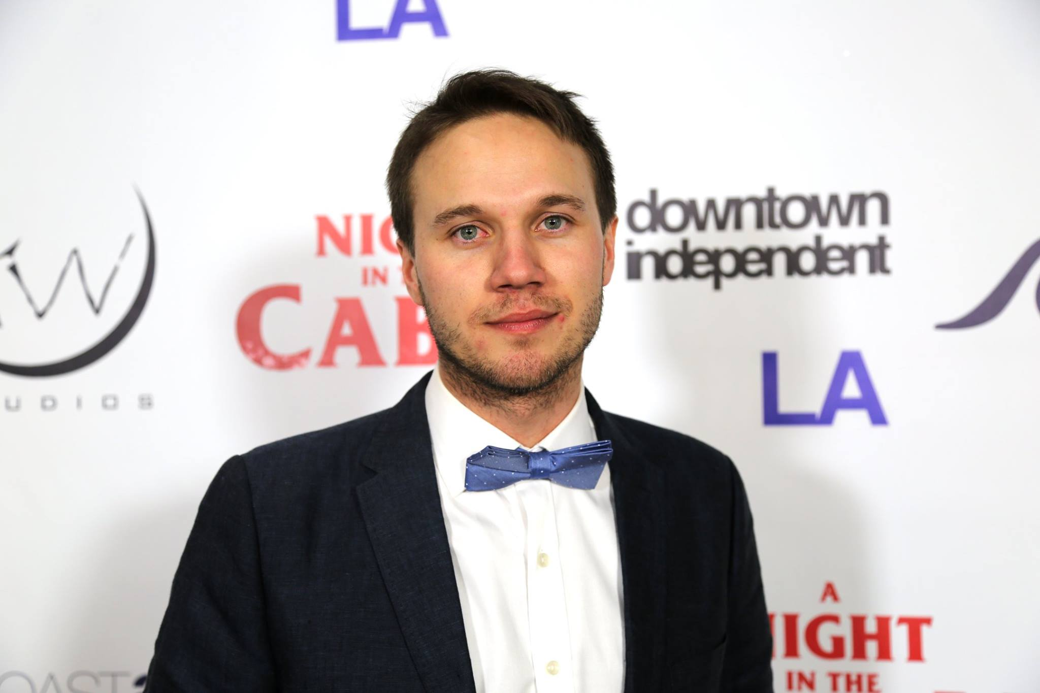 At the LA premiere of A Night in the Cabin