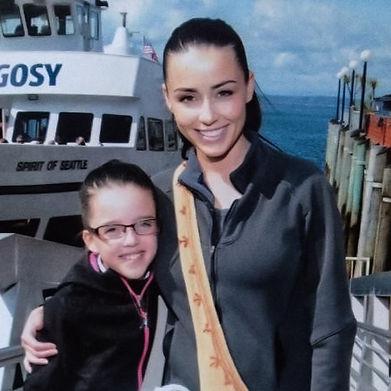 Rachelle and her daughter Savannah