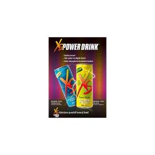 Mini Broşür XS POWER DRINK™