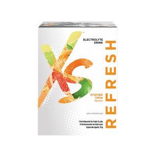XS™ Elektrolitler İçeren Portakal ve Misket Limonu Aromalı İçecek Tozu