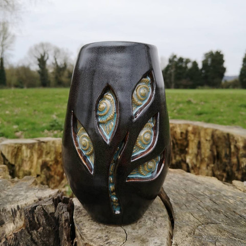 Fossil Vase