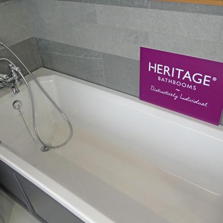 Heritage Bathtub Display