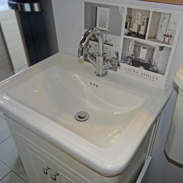 Laura Ashley Sink Display