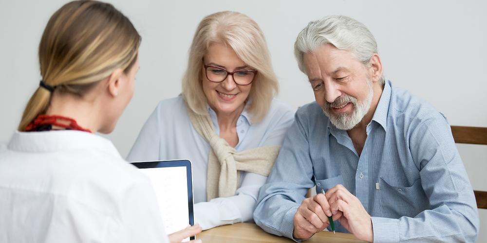 Elder Couple With Probate Attorney | Elder Law, P.A