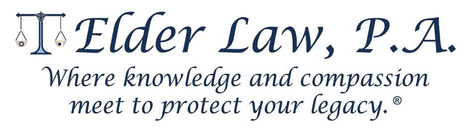 Elder Law, P.A Slogan
