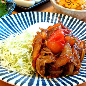 JAPANESE GINGER PORK WITH TOMATO SAUCE
