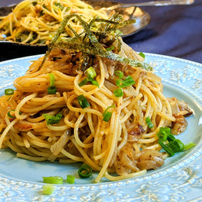 JAPANESE ANCHOVY PASTA