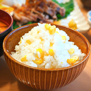 JAPANESE CORN RICE recipe