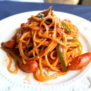 Neapolitan spaghetti/ Japanese tomato pasta