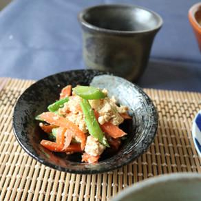 JAPANESE TOFU SESAME SALAD/ 白和え