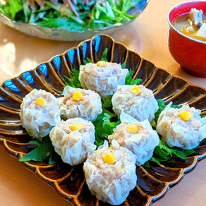 Shuumai dumpling without using a steamer
