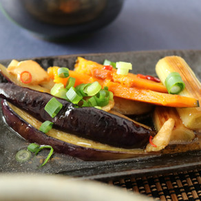 CALORFUL VEGETABLES IN TANGY SWEET SAUCE