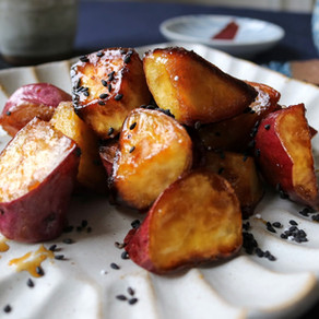 JAPANESE CANDIED SWEET POTATOES