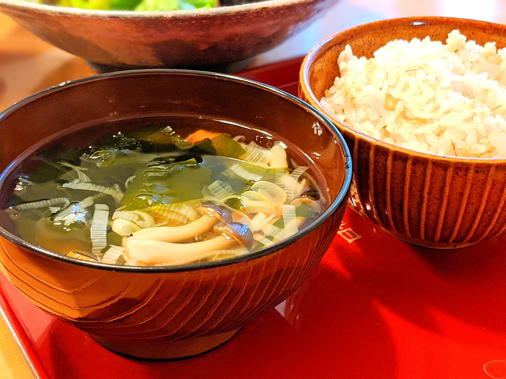 Japanese clear soup