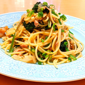 Japanese soy sauce based tuna pasta~quick & easy~