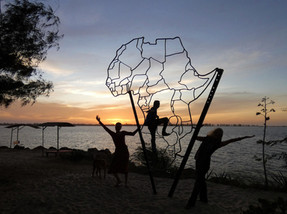 Afrikaskulptur
