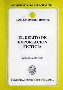 DELITO DE EXPORTACIÓN FICTICIA-DANIEL JI