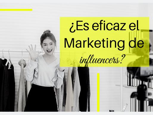 ¿Es eficaz el marketing de influencers?