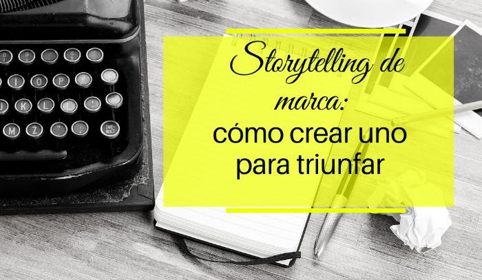 maquina de escribir: storytelling