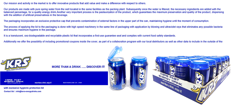 krs energy drink features