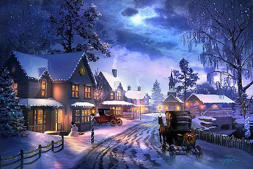 Christmas Memory by Joel Payne Giclee (Canvas Print)