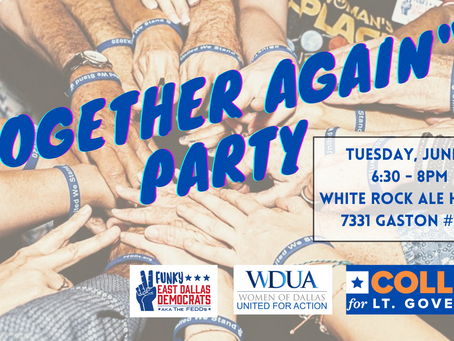 """Summer """"Together Again"""" Party - with Mike Collier"""