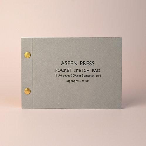 Pocket sketch pad