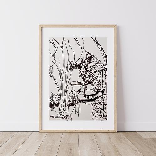 'Landscape drawing'