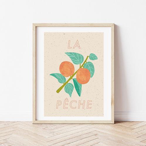 'La Peche' A4 print